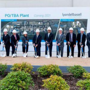 Lyondell Basell Commences Work on World's Largest PO/TBA Plant