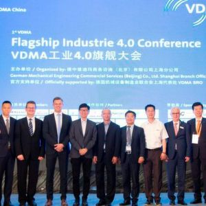 "The ""VDMA Flagship Industry 4.0 Conference"" built bridges for Chinese and German enterprises"