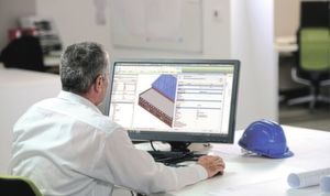 Using the free and web-based DNA Profiler from Tata Steel, products can be selected as 3D and BIM models.