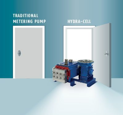 The Hydra-Cell MT8 opens new doors for metering technology.