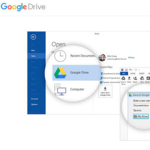 Office-Dokumente direkt in der Google Cloud speichern