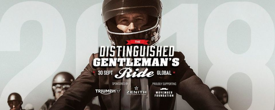Am 30. September findet der Distinguished Gentleman's Ride statt.