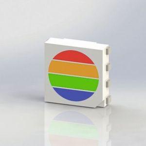 led vereint vier chips in einem geh use f r das lichtspektrum der sonne. Black Bedroom Furniture Sets. Home Design Ideas