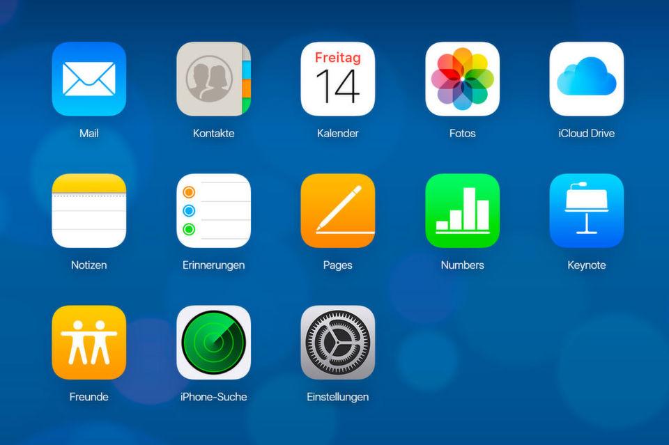 iCloud mit macOS X da6cf54053