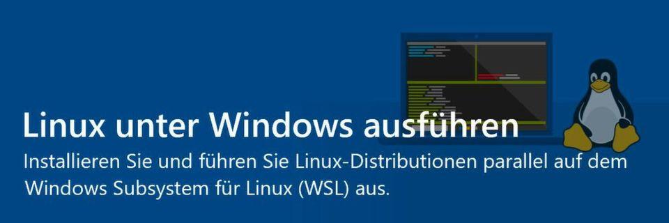Linux unter Windows nutzen