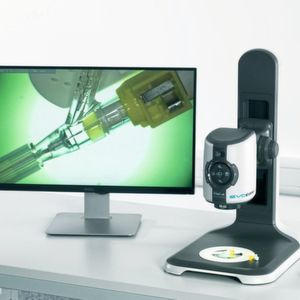 The digital microscope EVO Cam II is a reliable partner for smart digital inspection and documentation.