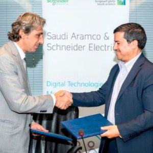 Saudi Aramco Signs MOU with Schneider Electric