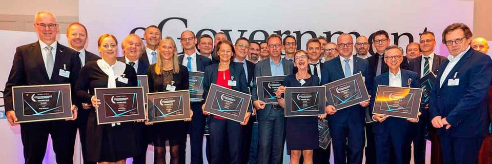 Die Gewinner der eGovernment Awards 2018