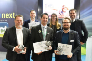 Last year's winners of the formnext Start-Up Challenge
