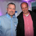 Stefan Kleesattel (l., Vanquish) und Sven Rademacher (SeaFair IT Solutions)