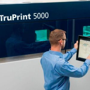 Trumpf will showcase solutions for automated process startup using the TruPrint 5000 3D printer at Formnext.
