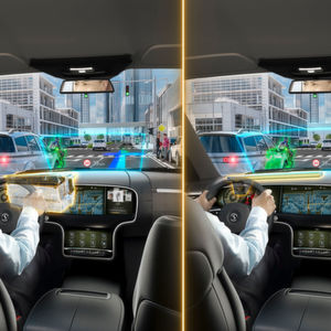 Augmented Reality Head-up-Display – Flache Wellenleiter statt Spiegeltechnologie