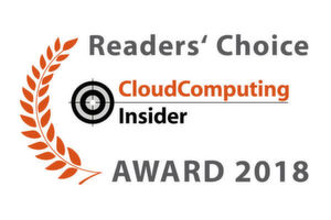 Die CloudComputing-Insider Readers' Choice Awards 2018.