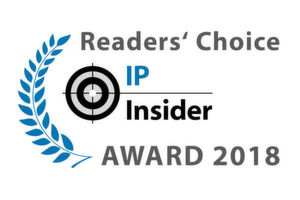 Die IP-Insider Readers' Choice Awards 2018.