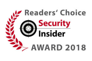 Die Security-Insider Readers' Choice Awards 2018.