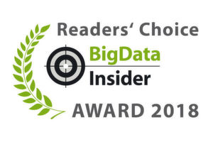 Die BigData-Insider Readers' Choice Awards 2018.