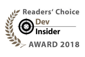 Die Dev-Insider Readers' Choice Awards 2018.