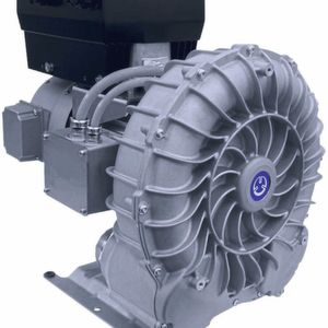 The gas-tight Variair SV 300 side channel blower for greater inert gas volumes.