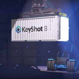 Version Keyshot 8 mit einfacherem Workflow