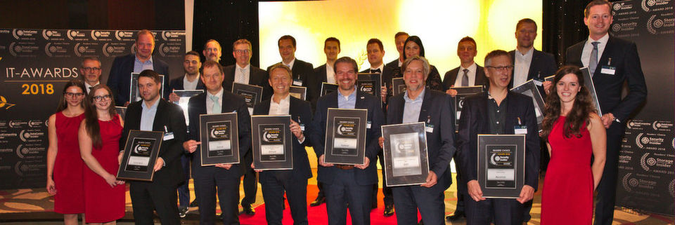 Alle Gewinner der Security-Insider Readers' Choice Awards 2018.