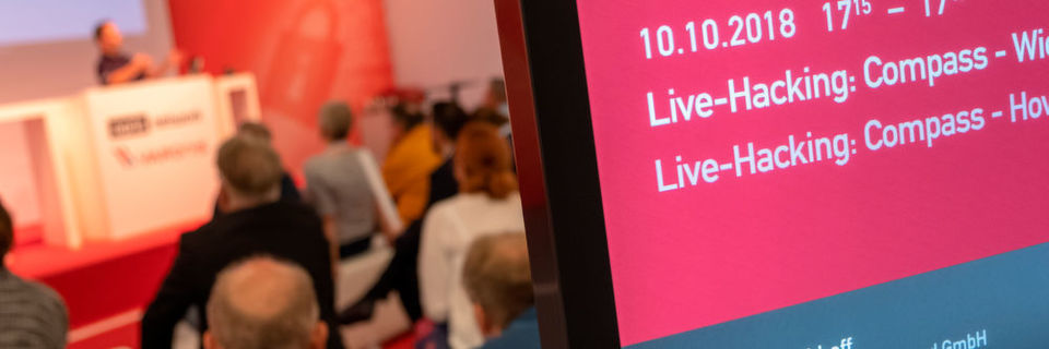 Live-Hacking-Sessions auf der it-sa
