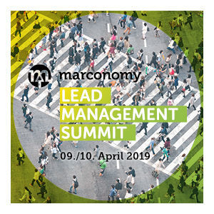 Lead Management Summit 2019 – jetzt Referent werden