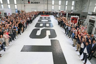 Bobst obtient un titre du Guinness World Records