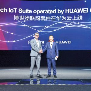 Bosch und Huawei bilden strategische Kooperation fürs Internet of Things