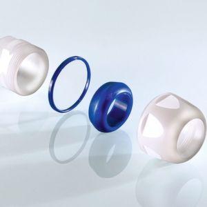 EHEDG-zertifizierte Hygiene-Kabelverschraubung aus PA-Kunststoff