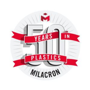 Milacron celebrates a landmark milestone this fall with its 50th Anniversary in Plastics.