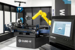 The demonstration centre in Stuttgart features a Cube-R, which integrates Metrologic Group's advanced 3D measurement programming and inspection software packages.