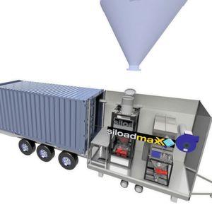 CQL-System ermöglicht kostengünstige Containerbefüllung mit Schüttgütern