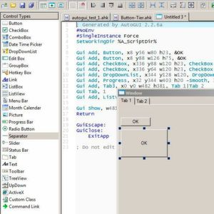 Fenster und GUIs mit AHK-Skripten manipulieren