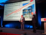 The lecture by Frank Grümbel (Lanxess) and Ulrich Schünemann (BASF) focused on how to see digitization as an opportunity, especially from the digitization of brownfield systems.