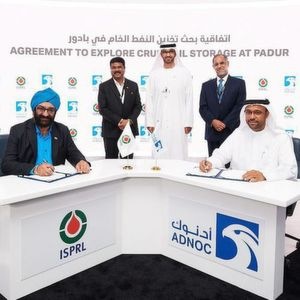 Adnoc Signs MOU with ISPRL to Explore Crude Oil Storage in Underground Facility