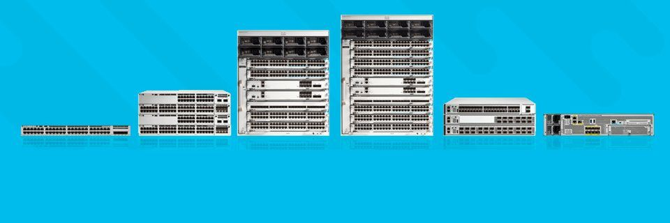Cisco ergänzt die 9000er Serie um Catalyst 9800 Wireless Controller und Catalyst 9200 Switches.