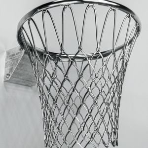 The basketball hoop milled from the solid with Hypermill.