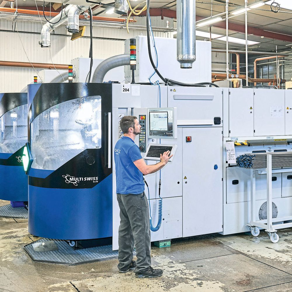 Bontaz has four Multiswiss 6x16 multi-spindle machines; another five are on order. The machines score top