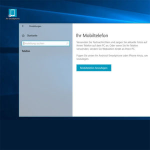 Windows 10 mit Android koppeln