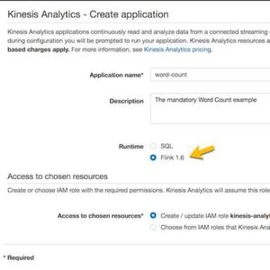 "Mit ""Amazon Kinesis Data Analytics for Java"" können auch Entwickler Data-Stream-Processing beispielsweise mit Apache Flink in ihre Java-Anwendungen integrieren."