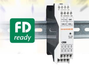 Das I/O Modul µCAN.8dio-SNAP FDready.