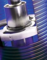 Cleaning disc provides a tight contact with the filter element to ensure a thorough cleaning.