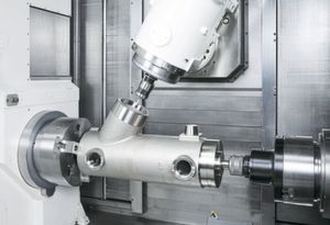 NC Gage allows for measuring operations while the workpiece is still mounted.