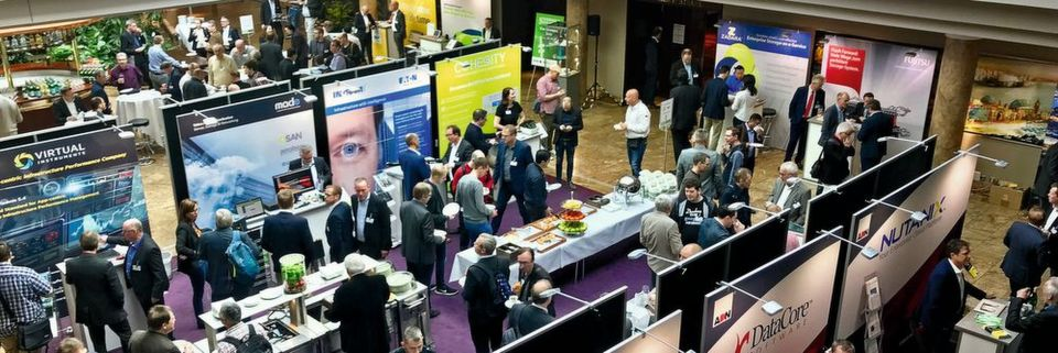 Ausstellung und Guided Tours sind integraler Teil der DATA Storage & Analytics Conference 2019