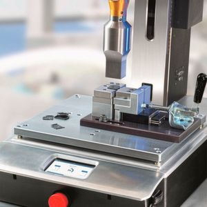 Ultrasonic Welding Platform Meets Challenges of Critical Small Plastic Part Assembly