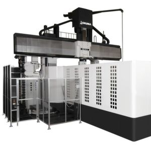 Portal milling machines such as the new MCR-S are used in mould and tool making for the production of large workpieces.