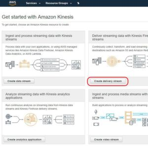 Data-Ingest mit AWS Kinesis Data Firehose