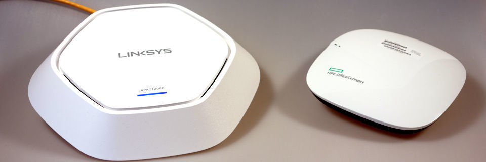 Im Praxistest: Linksys Access Point LAPAC1200C