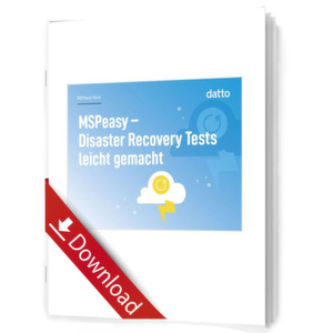 MSPeasy – Disaster Recovery Tests leicht gemacht