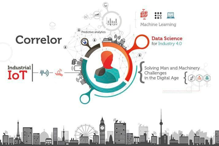 Correlor Data Science Intelligence entwickelt eine End-to-End-Software-Datenanalyseplattform für das Industrial Internet of Things (IIoT). Die Lösung